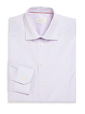 York Twill Striped Dress Shirt