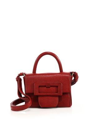 Mini Top-Handle Leather Shoulder Bag Maison Margiela