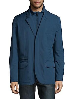 Mock Layered Jacket