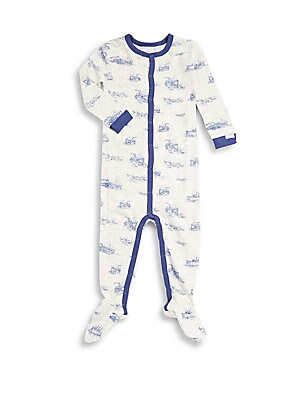 Baby's Long-Sleeve Cotton-Blend Romper