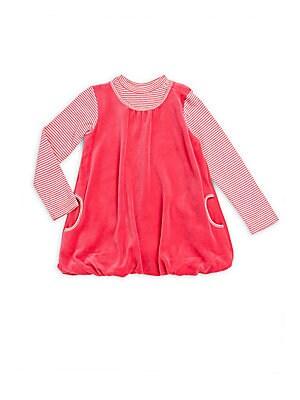 Baby's Mockneck A-Line Dress