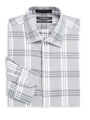 Classic-Fit Long-Sleeve Dress Shirt