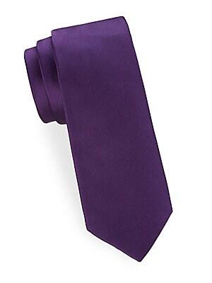 Metallic Silk Tie