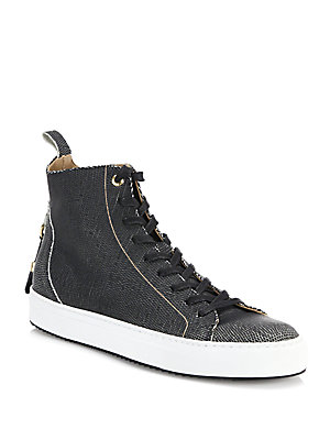 Alfa Textured High Tops