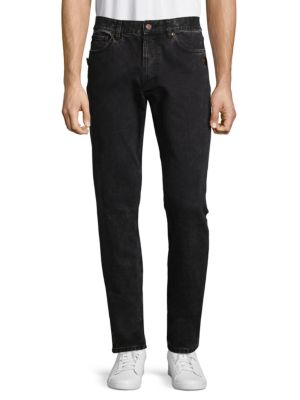 GIVENCHY D-Copper Studded Jeans in Black