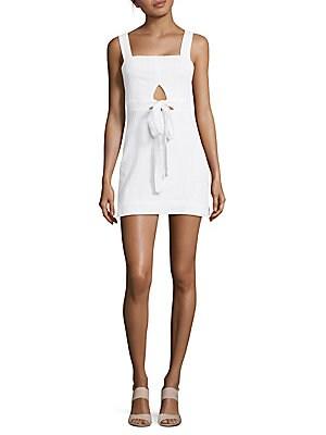 Sleeveless Squareneck Dress