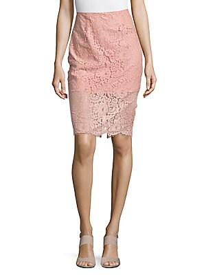 Bright Night Lace Skirt
