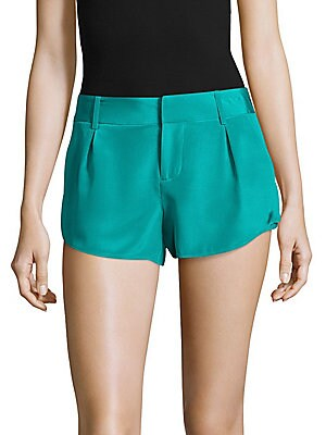 Butterfly Silk Four-Pocket Shorts