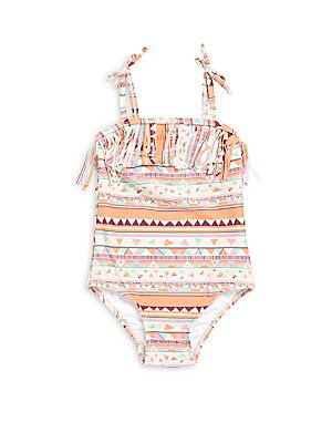 Baby's Printed Swimsuit
