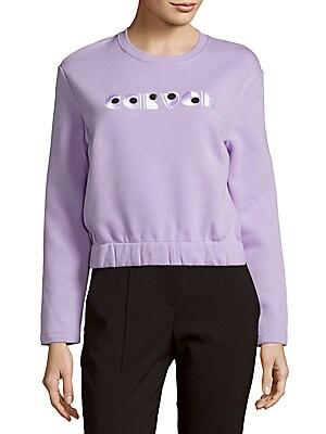 Long-Sleeve Cotton Sweatshirt