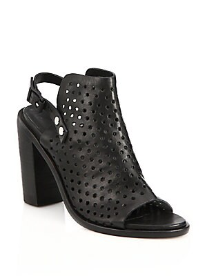 Wyatt Perforated Leather Sandals