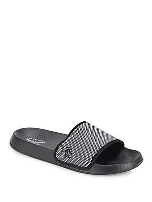 Textured Slide Sandals