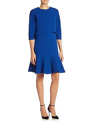 Wool Popover Dress