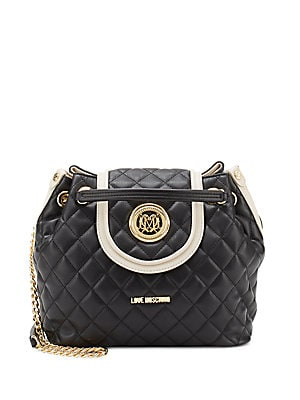 Borsa Quilted Bucket Bag