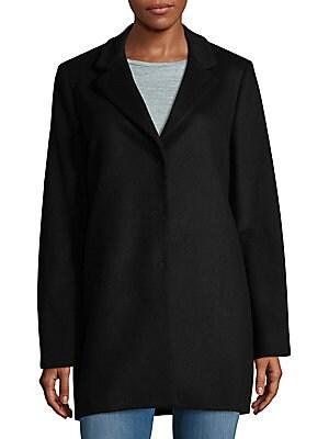 Boyfriend Virgin Wool Blend Coat