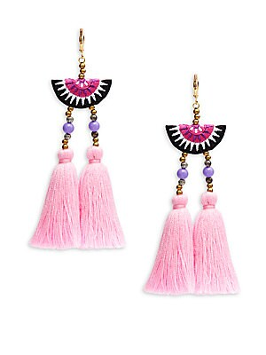 Camilla Tassel-Drop Earrings