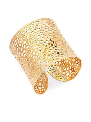 Openwork Cuff Bracelet
