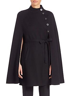 Wool Cape Coat