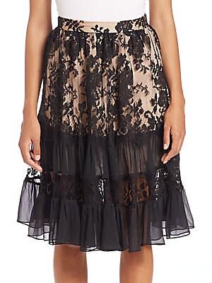 Karmic Lace Skirt