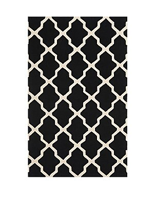 Cambridge Black Area Rug