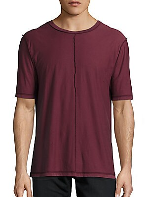 Inside-Out Solid Tee