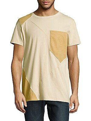 Roundneck Short-Sleeve Cotton Tee