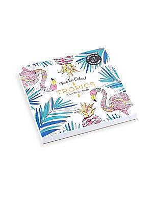 Tropics Coloring Book
