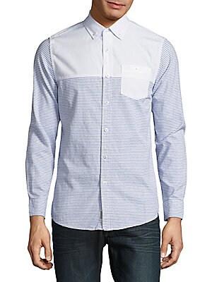 Patternblock Cotton Shirt