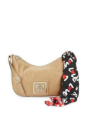 Top-Zip Shoulder Bag