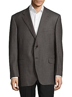 Classic Neat Wool Coat