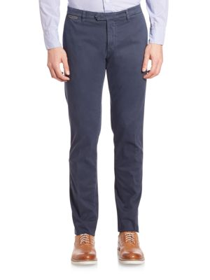 American-Fit Brushed Cotton Chinos Eleventy