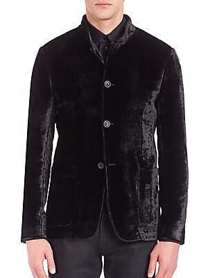 Guru Velvet Jersey Jacket
