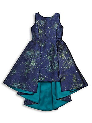 Girl's High-Low Hem Dress
