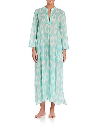 Cotton Voile Batik Caftan