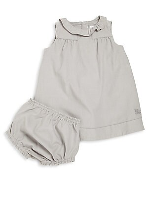 Baby's Two-Piece Melly Corduroy Dress & Bloomers Set