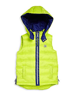 Little Boy's & Boy's Puffer Vest