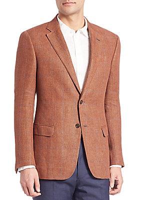 Linen Windowpane Sportcoat