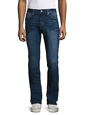 Cotton-Blend Five-Pocket Jeans