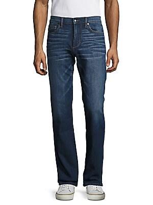 Five-Pocket Cotton-Blend Jeans