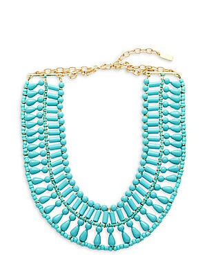 Riviera Beaded Collar Necklace