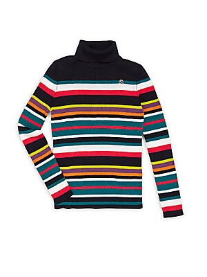 Little Girl's Striped Sweater