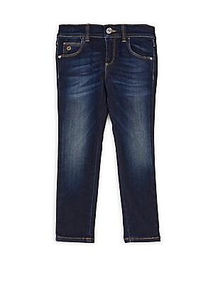 Little Girl's & Girl's Five-Pocket Jeans