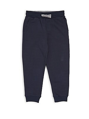 Little Boy's & Boy's Solid Cotton Pants