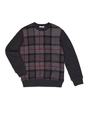 Little Boy's & Boy's Cotton Long-Sleeve Tee
