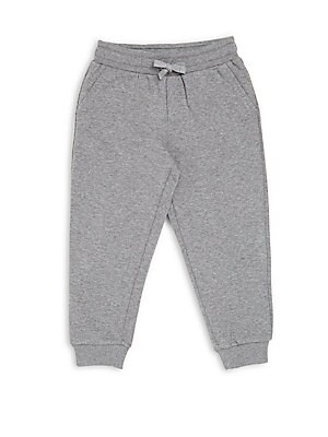 Little Boy's & Boy's Heathered Cotton Jogger Pants