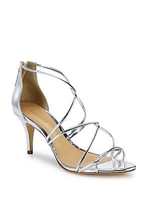Tori Ann Strappy Metallic Sandals