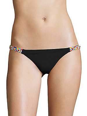 Braided-Side Bikini Bottom