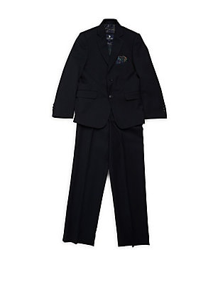 Little Boy's & Boy's Notch Lapel Suit