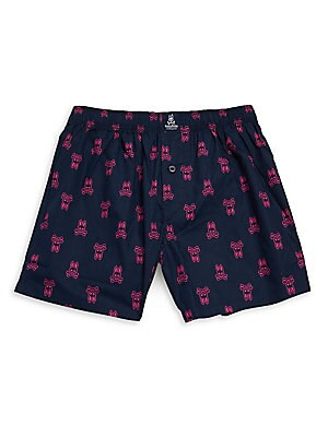 Cotton Printed Bunny Boxer Shorts