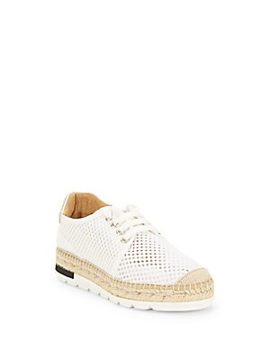 Lace-Up Espadrille Sneakers